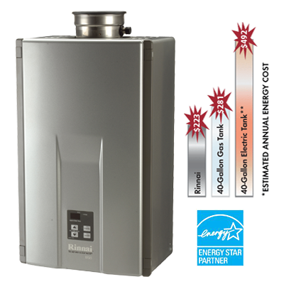 Rinnai® Tankless Water Heater
